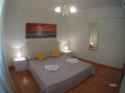 Photo for Bright apartment with a spacious veranda near the beach