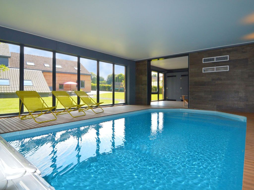 le lodge des bruyères | affitto casa waimes - proprietà 6824294 ... - Piscina In Camera Da Letto