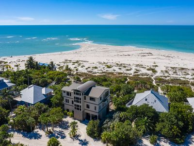 Photo for BEAUTY & THE BEACH - LUXE BEACHFRONT MANSION, WEDDINGS, HEATED POOL, BOAT SLIP