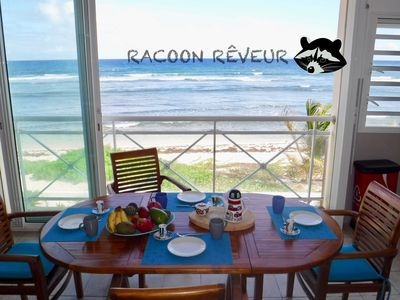 Photo for Dream Racoon, apartment on the beach with exceptional sea view