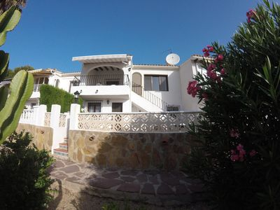 Photo for Beautiful villa, stunning views, c/pool,  air con,  wi fi close to resort centre