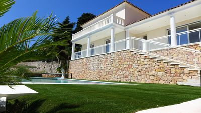 Photo for House 8 people with panoramic sea view - 5 Rooms 8 people
