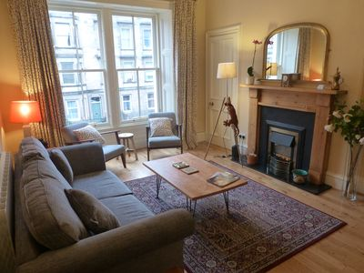 Photo for Montgomery Street 62: Spacious Victorian apartment in quiet central location