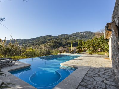 Photo for Beautiful house with private pool in Biniaraix (Sóller). Free WIFI
