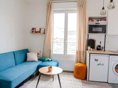 Photo for Bright apartment refurbished Père Lachaise