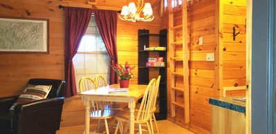 Photo for Clean, private cabin just 3 miles to Waynesville on a paved road. 1 of 2 cabins