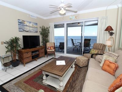 Photo for Regency Isle 710- Beach Front View with Large Terrace and Luxurious Interior!