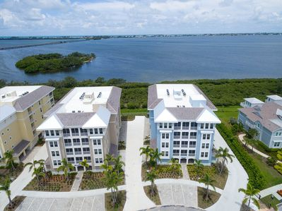 Brand new large three bedroom condo directly on the Intracoastal waterway