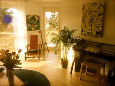 "Photo for Apartment ""times place"" charming retreat with creative possibilities"