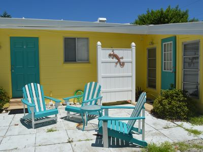 Photo for Seaside Cottage- just steps from the beach on Manasota Key