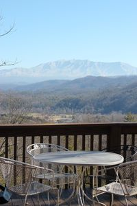 Photo for Beautiful Mountain View from deck. Close to Pkwy. Very Comfortable