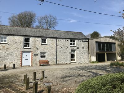 Detached Stone Barn with separate Games Room