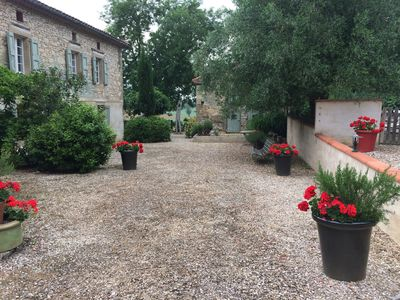 Photo for Luxurious Stone Farmhouse near Albi, Private Pool, In Glorious Parkland Setting