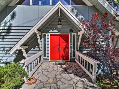 Photo for NEW! Lake Arrowhead Home w/ 3-Level Deck + Grill!