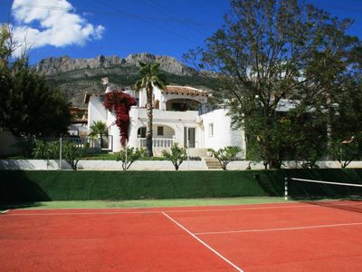 Photo for Villa with Private Tennis Court