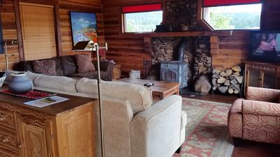 Photo for Stunning Ranch Headquarters Log Home