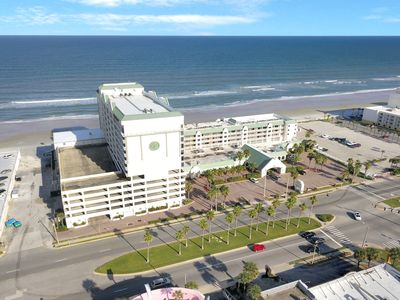 Photo for NEW LISTING! Oceanview studio with four shared pools, location on the beach!