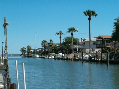 Photo for Canal, Private Dock, Large deck, off Estes Flats & Aransas Bay...Great Fishing!