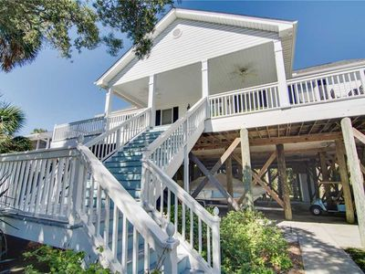 Photo for Casa Blanca- Beautifully Renovated Folly Beach Home with Ocean Views