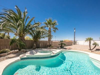 Photo for 3 BEDROOM | 2 BATH | POOL/SPA | LAKE VIEW | CENTRAL DOWNTOWN LAKE HAVASU