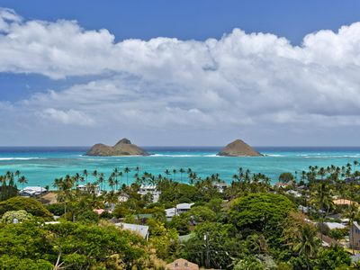Photo for Gorgeous Views and Home. Minutes from Lanikai Beach in Kailua.