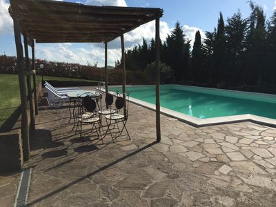 Photo for Private villa in the countryside near Cecina