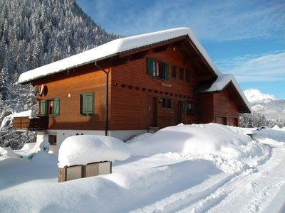 Photo for Apartment in a chalet in Chatel in Haute-Savoie