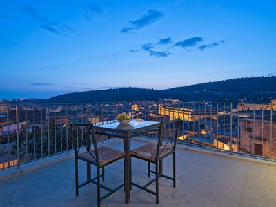 Photo for Tano, apartment with panoramic view and terrace