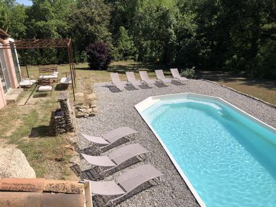 Photo for Villa in the heart of the Luberon with private pool