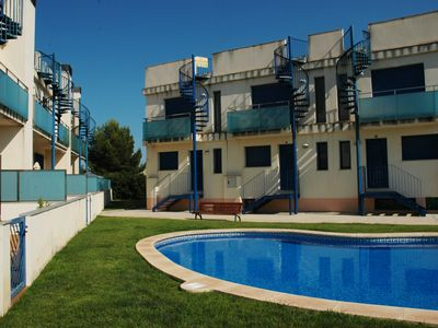 Photo for HOUSE IN L'AMPOLLA L'Ideal for families (12 people)