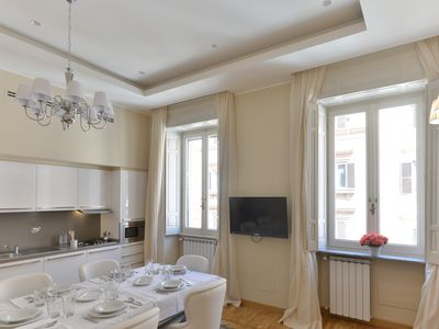 Photo for Luxury 2 BD apartment close to Via Veneto