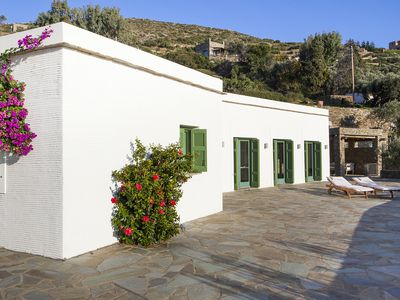 Photo for Olive Tree House -Comfortable living, breathtaking sea views, bbq and garden