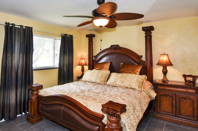 Master bed with King size bed