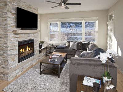 Photo for Dream Ski 3 BD/3BA condo on River and at base of Beaver Creek Resort
