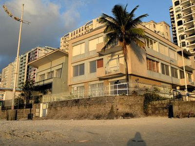 Photo for Apartment Facing the Sea Foot on Sand in Pitangueiras with Wi-fi!