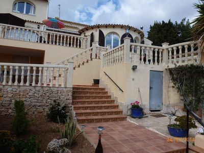 Photo for BC private pool villa 200 m2 with sea views in Benitachell SPAIN (COSTA BLANCA