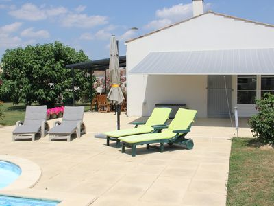 Photo for House with private pool 20 min from La Rochelle