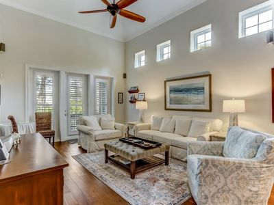 Photo for Pristine, Beautifully Decorated Townhome With Just a Short Walk To The Beach!