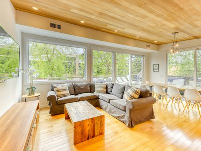 Photo for NEW LISTING! Centrally located home w/ gourmet kitchen, & spacious deck