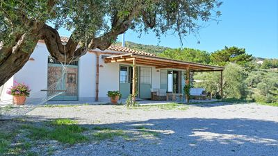 Photo for Nestled in a dramatic hillside setting, Villa Margiu offers spectacular panoramic sea and mountain v