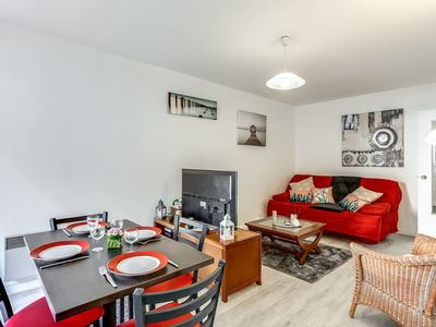 Photo for Lovely apartment for 4 guests with WIFI, TV and balcony