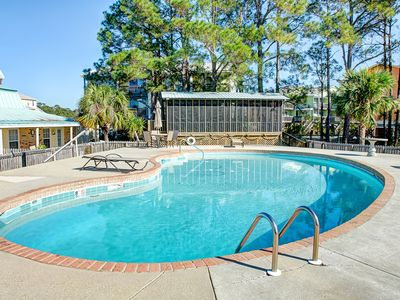 "Photo for ""Surf Club Unit B-9"" Lovely Views of Gulf 