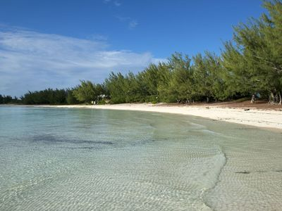 Photo for Beachfront House on the Calm Tranquil Waters of Beautiful Gaulding Cay Beach