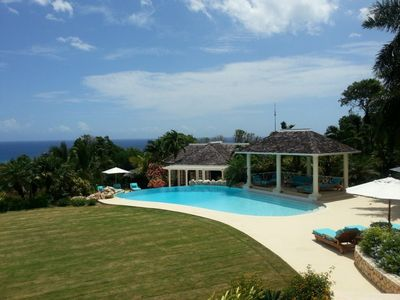 Photo for Kenyan Sunset Golf Villa at Rose Hall - Luxury 5 bedroom private villa in Jamaica