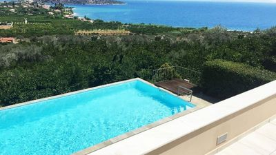 Photo for Large villa with sea views in Old Epidavros