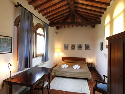 Photo for 2bedrooms apartment with pool in the Chianti area, organic farm