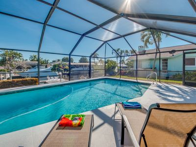 Photo for Striking and Perfect, Heated Pool - Villa Summer Bliss - Cape Coral