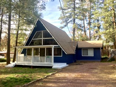 Photo for Newly Remodeled A-Frame Cabin in the Pines