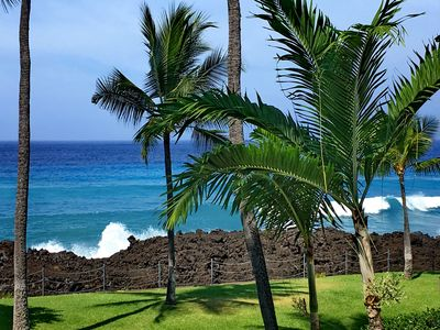 Photo for OCEANFRONT KANALOA *FREE AC SPECIAL*  3/2 - 3 Pools - Walk to Keauhou Harbor