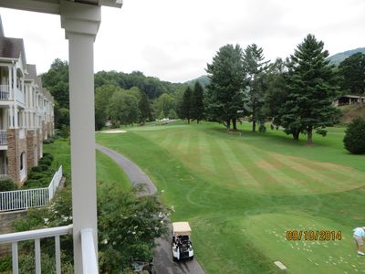 Photo for Fantastic views of Golf Course and Mountains From This 3 BR Condo